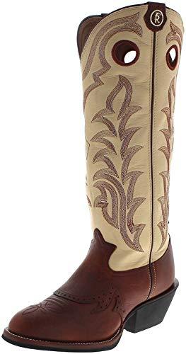 FB Fashion Boots Herren Cowboy Stiefel RR1013 EE Westernreitstiefel Buckarroo Lederstiefel Braun 45.5 EU
