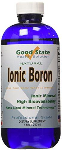 Flüssige ionische Mineralien Bor