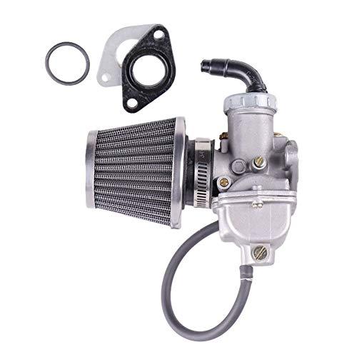 Super1Six Reparación del Camino de la Motocicleta Go Kart carburador Conjunto del Patio de ATV con Filtro de Aire de Aluminio Bici de la Suciedad práctica for 70CC 90CC 110CC
