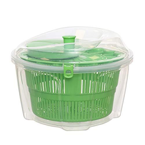 Scola insalata in plastica Verde Trasparente