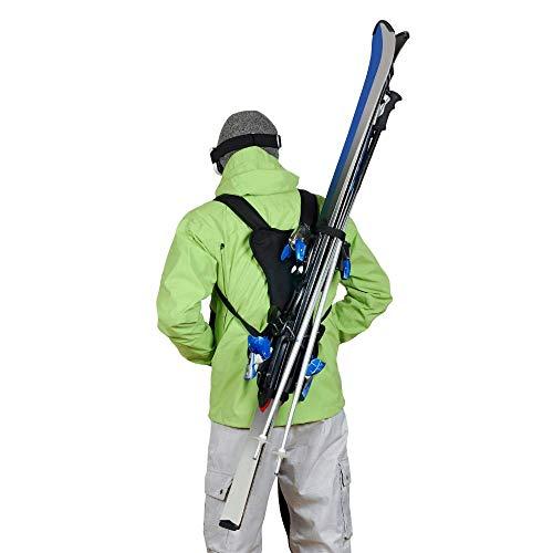 Wantalis Skiback Porte Skis et b� tons Noir