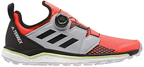adidas Terrex Agravic Boa, Zapatillas Deportivas para Hombre, Solar Red/Core Black/Grey Two F17