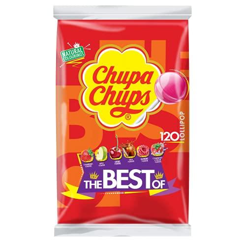 "Chupa Chups ""Best Of"" Sac Enfants bonbons sucettes - 100"