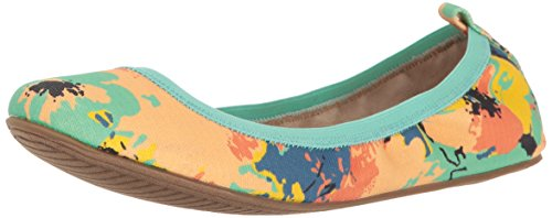 Unlisted Women's Whole Truth Ballet Flat, Natural Multi, 9.5 M US