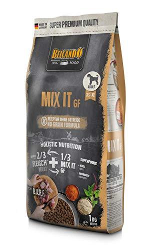 Belcando Mix It GF [1 kg] Ergänzungsfutter | Trockenfutter für Hunde zur Ergänzung bei Fleischfütterung & Barf | Ergänzungsfutter für Hunde