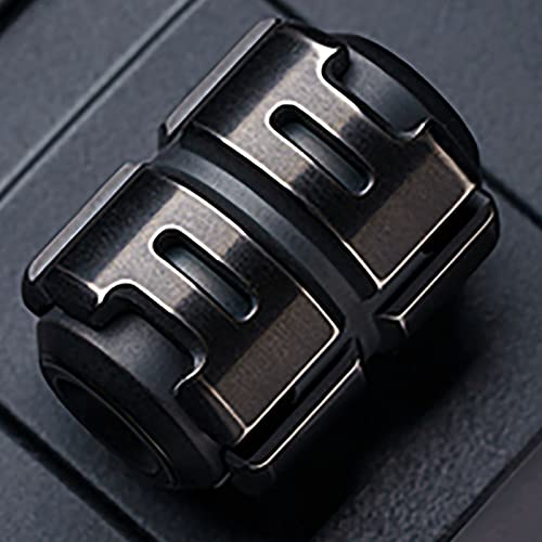 BMDHA Fidget Spinner,Antistress Lega di Titanio Mini Pendente,Fidget Toys Ornamenti MutoAntistress Adulti Metallo Anti Stress Spinner