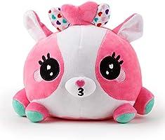 WowWee Ploosh - White & Pink Kissimal - Interactive Plush