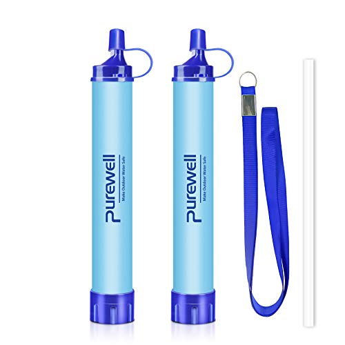 Purewell Outdoor Water Filtration Straw