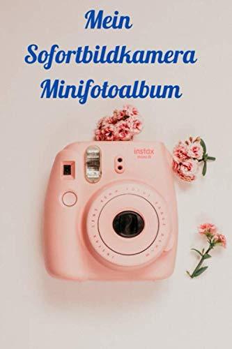"""Mini Fotoalbum für Sofortbildkamera: 120 Seiten 6x9\"""" kleben Sie Ihre Schnappschüsse in dieses kleine Fotoalbum und notieren unter dem Bild eine kleine Bildbeschreibung"""
