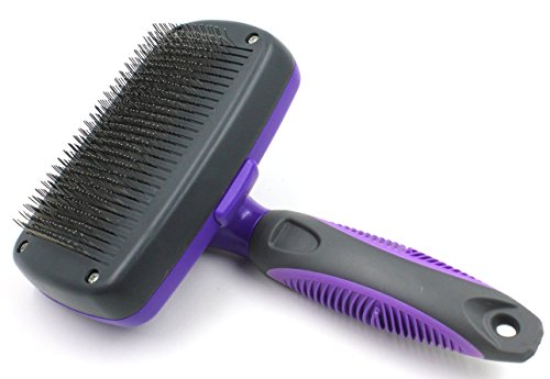 Most Popular - Hertzko Self Cleaning Slicker Brush
