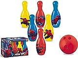 SL Bowling Set 6 Pins+bowball. Juego de boliches -Juego de Bolos para niños con alfileres y Bola,Bolera elota de Juguete para Niños Niñas