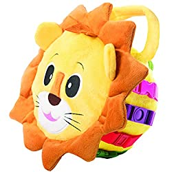 Toys that Begin with the Letter L include this cute lion.