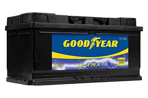 Goodyear GODF595 - Bateria de coche ULTRA 12 V 100 Ah 820 A
