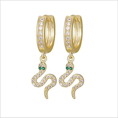 JUYIXIAN Pendientes Mujer Plata Baratos Pendientes Mujer Plata NiñA De Aro Largos Vintage Estrella Earrings blanco