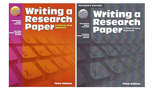 Writing a Research Paper Student Book with Teacher's Edition