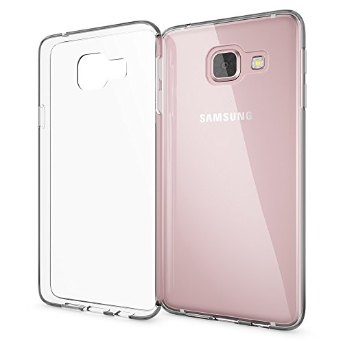 NALIA Handyhülle kompatibel mit Samsung Galaxy A3 2016, Slim Silikon Motiv Case Cover Hülle Crystal Schutzhülle Dünn Durchsichtig, Etui Handy-Tasche Schale Back-Cover Smart-Phone Bumper - Transparent