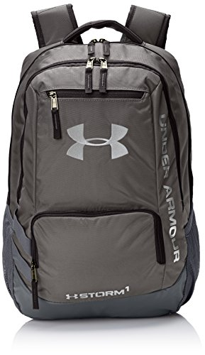 Under Armour Storm Hustle II Backpack, Graphite (040)/Silver, One Size Fits All