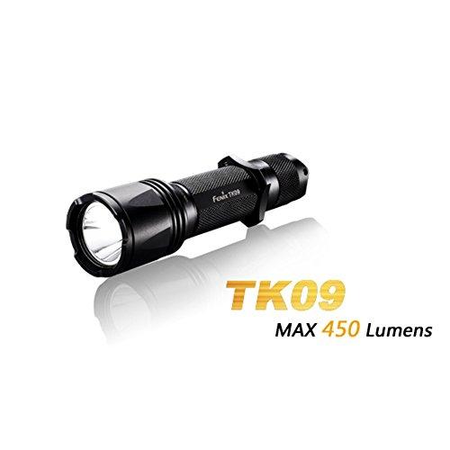 LED Taschenlampe Fenix TK12 batteriebetrieben 114 g Schwarz FENTK12