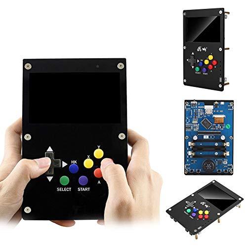 Tangxi Consola de Videojuegos portátil para Gamepi43 Board 4.3in IPS Dispaly 800 x 480 Pixel Mini Consola de Videojuegos Retro portátil para Raspberry Pi B +/2B/3B/3B +(EU)