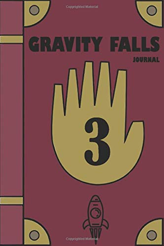 Gravity Falls Journal : Best Journaing book for gravity falls Fans   With 140 Pages
