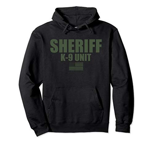 Sheriff K-9 Unit OD Green Uniform Hoodie