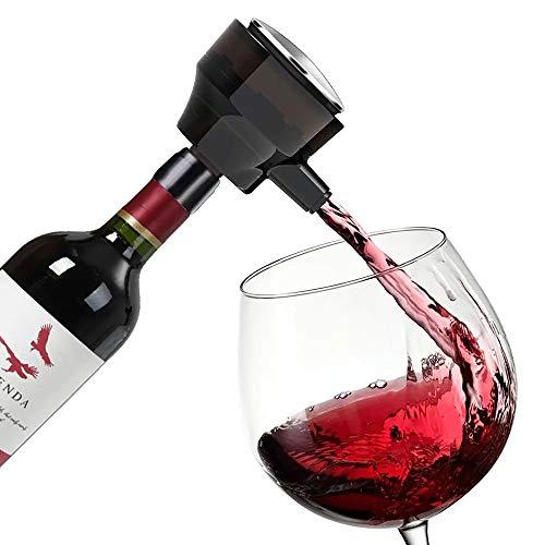 Decantador de vino S-mar-t decantador electrónico de vino rápido eléctrico para resaca Binde ultrasonido de cerveza de la barra de vino herramientas soplador de burbujas