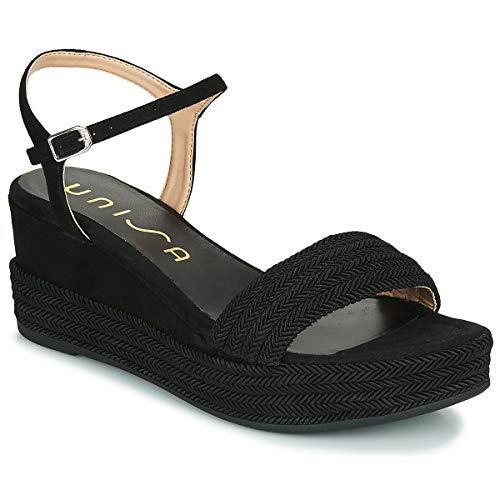 UNISA KATIA Sandalen/Open schoenen dames Zwart Sandalen/Open schoenen