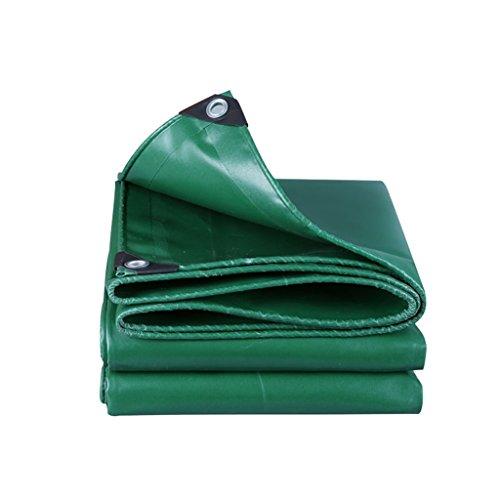 en Plein air Bâche Anti-Pluie Protection Solaire Camion bâche Cargaison abri Bois Tissu Protection Solaire résistant à l'usure, Vert (Color : A, Size : 2 * 1.5)