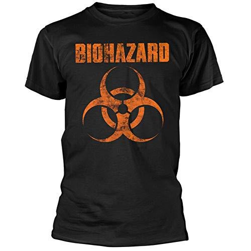 Biohazard Logo Shirt S-XXL Hardcore Metal Band T-Shirt Large Size Tee Shirt