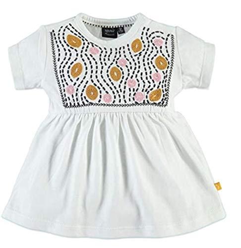 Babyface 9128628 New Born Girls Tunique Manches Courtes Crème - - 2 Mois