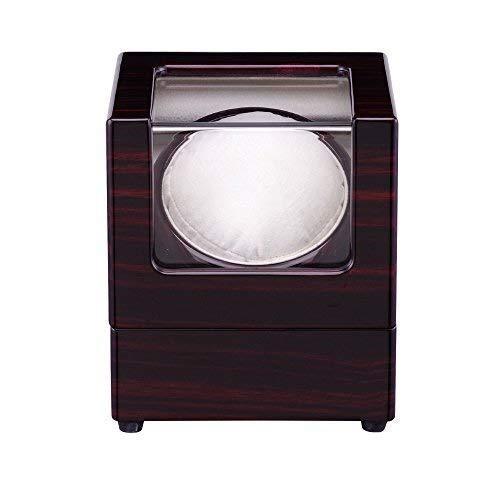 W-SHTAO Watch Winder 1 + 0 Madera de la Caja de Almacenamiento automático de rotación de la Pantalla Caja Rose Rojo Blanco