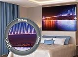 GREAT ART XXL Poster – Bosporus Brücke bei Nacht –