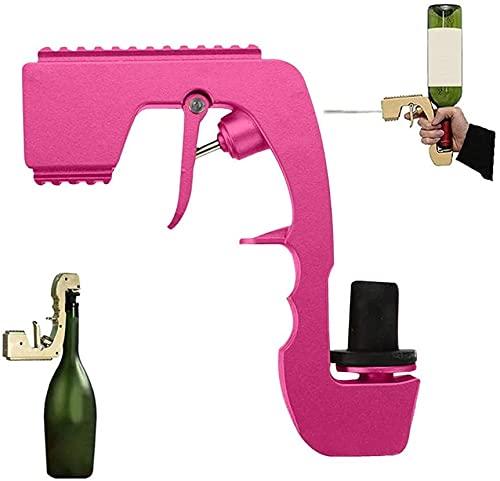 Blaster Champagne Gun, burbujeante Blaster Champagne Pistolero, Tapón de vino CHAMPAGNE Dispensador de vino, Fuente Botella Ejecor de cerveza Alimentación Coquetear, Herramienta de Barra de Bodas - Or
