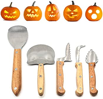 5-Piece Kedelak Pumpkin Carving Kit