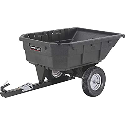 Ohio Steel Swiveling Poly Dump Cart - 1,000-Lb. Capacity, Model# 1000P-SD