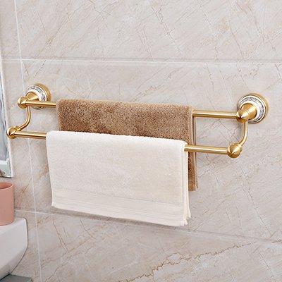 Handdoekhouder voor handdoekdroger, voor wastafels, badkamer, van porselein, blauw en wit