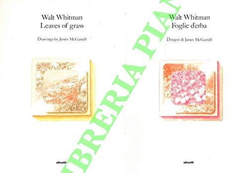 Leawes of grass. Foglie d'erba. Disegni di James McGarrell
