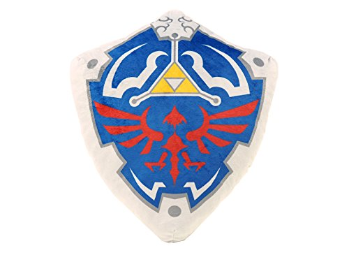 Legend of Zelda 15-Inch Hylian Shield Plush Pillow
