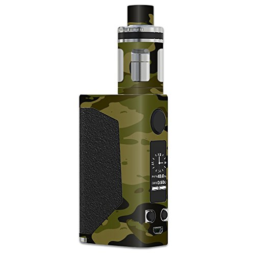 MightySkins Skin Compatible with JoyeTech eVic Primo – Green Camouflage | Protective, Durable, and Unique Vinyl Decal wrap Cover | Easy to Apply, Remove, and Change Styles | Made in The USA
