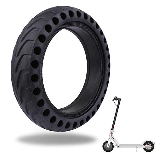 LuYang Solid Tire Replacement for Electric Scooter Xiaomi Mi m365 / gotrax gxl V2,8.5 inches Solid Tires Explosion-Proof Tire for Xiaomi Mijia M365 Electric Scooter/GOTRAX GXL V2 Scooter【One Piece】