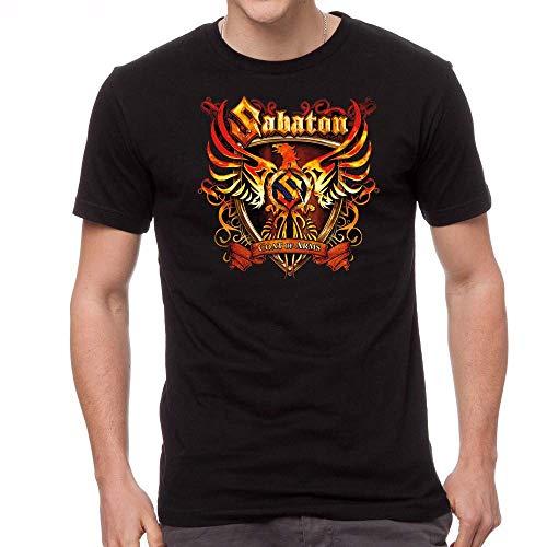 Sabaton Coat of ARMS Men's T-Shirt Short Sleeve Shirt