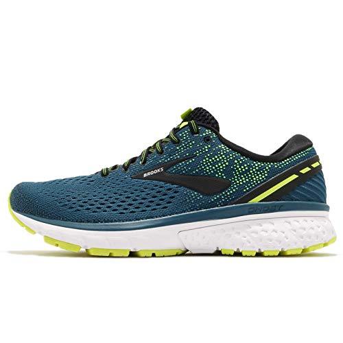 Brooks Men's Ghost 11 Running Shoes, Multicolour (Blue/Black/Nightlife 459), 7 UK