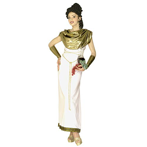 Aptafêtes - CS924465/M - Vous Serez Charmeuse avec Ce Déguisement de Déesse Grecque - Taille M. Ce Déguisement Est Composé d'une Robe, d'un Collier, d'une Ceinture et d'un Bracelet. - M -