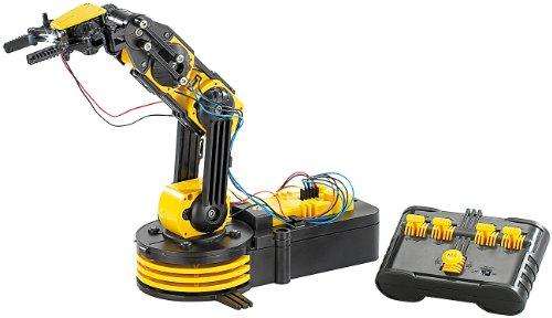 Playtastic Roboterarm: Baukasten Roboter-Arm (Roboterarm selber Bauen)