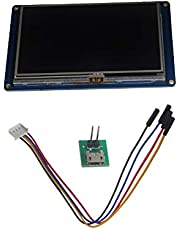 "NX4827T043 Nextion Basic 4.3 ""Pantalla 4.3 pulgadas HMI Smart LCD Módulo TFT Panel Táctil para Arduino Raspberry Pi DIYmaker"