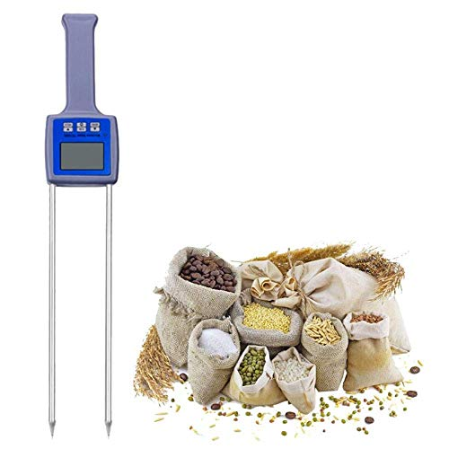 Great Features Of MJIKOO Grain Moisture Meter Wheat Maize SOYA Beans Paddy Rice Barley Moisture Test...