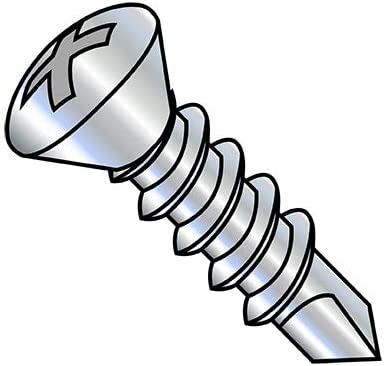 6-20X1 1 4 Phillips Limited Special Price Oval Max 78% OFF Self Zinc Drilling Screw Thread Full P