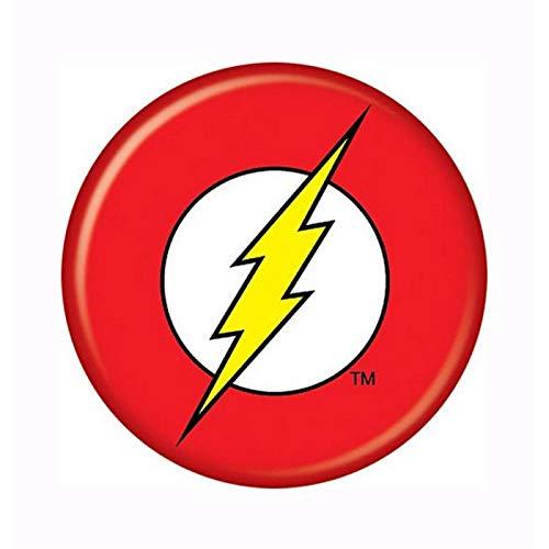 Botão com logotipo do Flash DC Comics 81081
