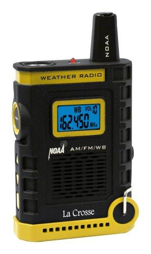 La Crosse 810-805 NOAA/AM/FM Weather RED Alert Super Sport Radio with Flashlight