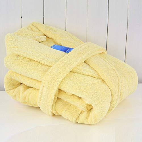 KTUCN Frauen Männer Baumwolle Bademantel Terry Long Soft Warm Thicken Nachthemd...